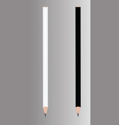 Black and white graphite pencil vector