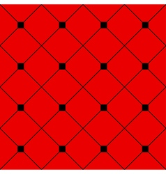 Black Square Diamond Grid Red Background vector