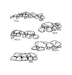 Dutch dolmen vector