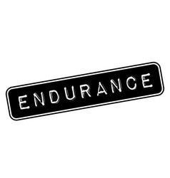 Endurance stamp typ vector