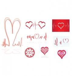 Medical design elements vector