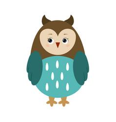owl for children vector image