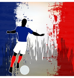 Football France vector image