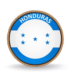 Honduras Seal vector image