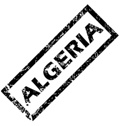 ALGERIA rubber stamp vector