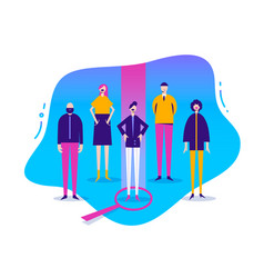 business stylized characters vector image