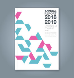 Cover annual report 1183 vector