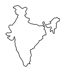 Drawing Map Of India Vector Images Over 220