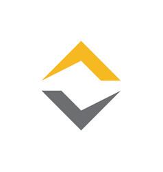 initial va and av abstract logo vector image