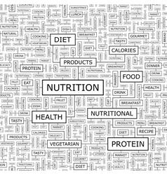 NUTRITION vector