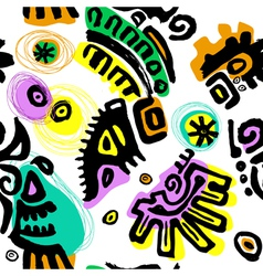 pattern hand drawn vector image