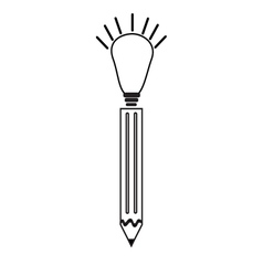 pen ideas icon vector image