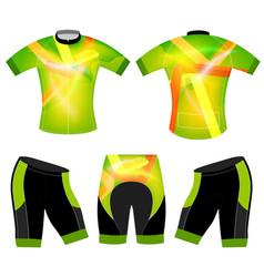 Translucent colors sports t-shirt vector
