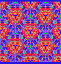 vibrant futuristic abstract geometric pattern vector image