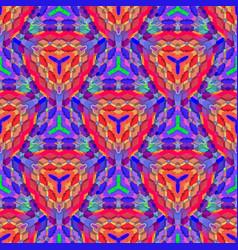 vibrant futuristic abstract geometric pattern vector image