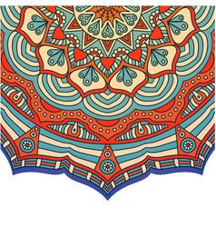 Vintage mandala design image vector