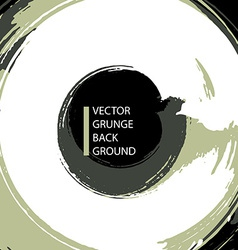 Grunge brushes made abstract background vector image vector image
