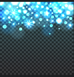 abstract blue light background vector image vector image