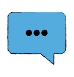 bubble speak dialog talk comic vector image