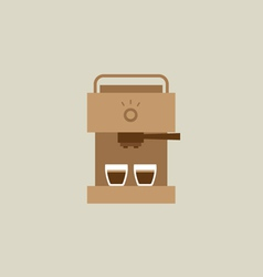 Coffee Maker Machine vector image