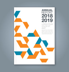 Cover annual report 1188 vector