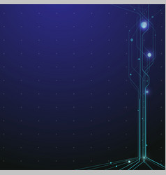 Technology and science background vector