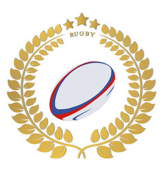 The theme rugby vector