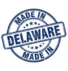 Made in delaware vector