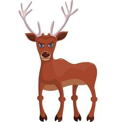 Angry deer vector
