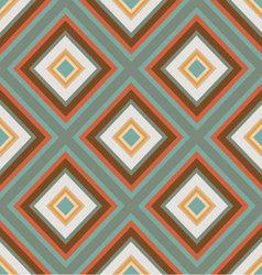 seamless retro ornament squares vector image