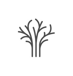 dill line icon vector image