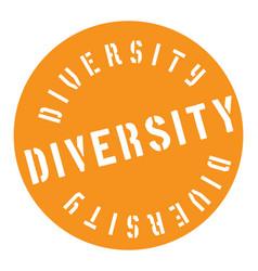 Diversity stamp typ vector