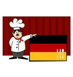 German cuisine vector