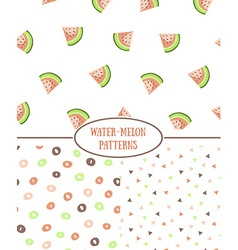 Hand drawn style seamless pattern with vector image