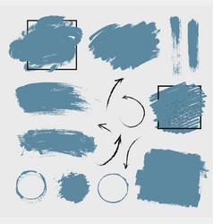 imitation smear paint vector image