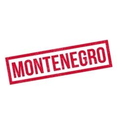 Montenegro rubber stamp vector