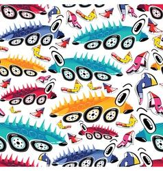 Fantastic cars vector image