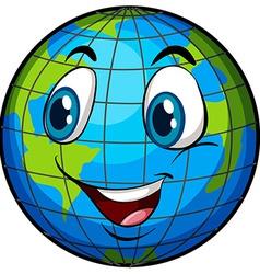 A comical image earth vector