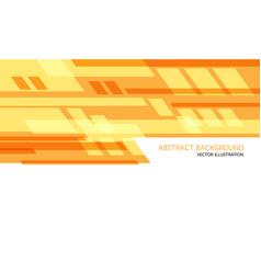 Abstract yellow orange geometric speed technology vector