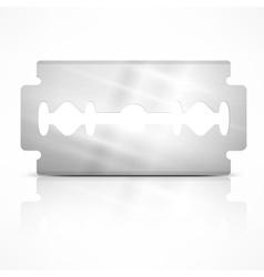 Blade razor on white vector
