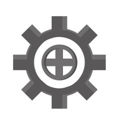 cog wheel industry icon vector image