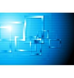 Colourful tech design vector image