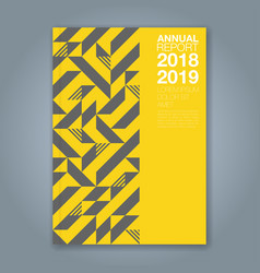 Cover annual report 1198 vector