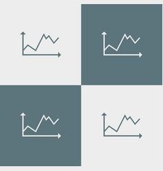 Diagramma icon simple vector