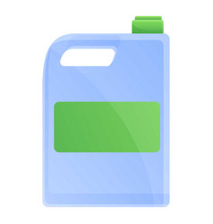 Disinfection canister icon cartoon style vector