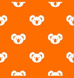 koala pattern seamless vector image