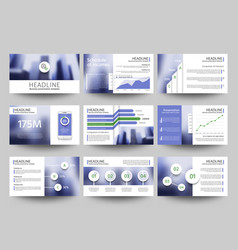 Multipurpose business presentation vector