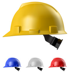safety helmet vector image