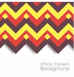 Ethnic pattern background vector