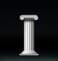 Antique white column vector